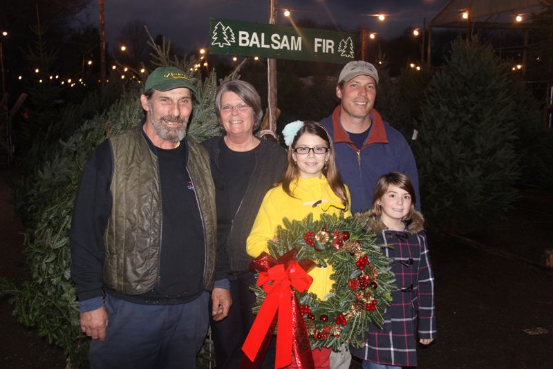 Family Christmas Tree Farm Retail Location Photo